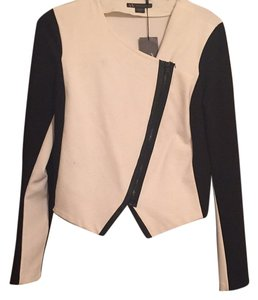 A|X Armani Exchange Black and White Blazer