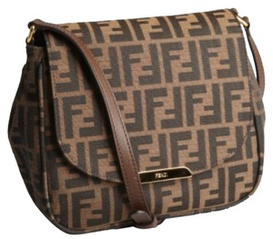 Fendi Zucca Big Mama Shoulder Bag