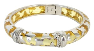 Angelique de Paris Farfalle Vermeil Yellow & Silver Bracelet