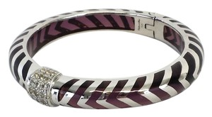 Angelique de Paris Mata Hari Dark Purple & Silver Bracelet
