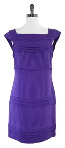 Diane von Furstenberg short dress Silk Pleated Cap Sleeve on Tradesy