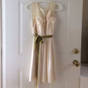 BHLDN Cream Dress