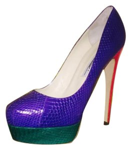 Brian Atwood Mutli / purple / pink / green Athletic