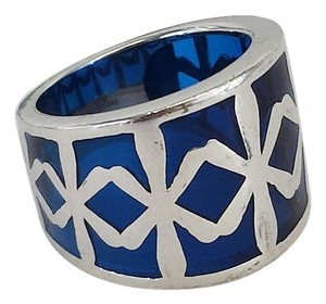 Angelique de Paris Blue & Silver Ring