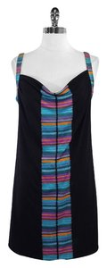 Mara Hoffman short dress Multi Color Print Silk Sleeveless on Tradesy