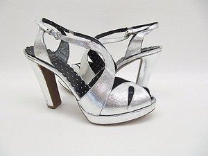Moschino Cheap Chic Silver Sandals
