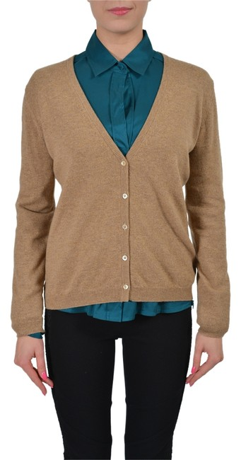 Item - Brown V-2542 Cardigan Size 8 (M)