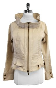 Valentino Beige Cotton Blend Jacket