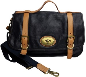 Fossil Leather Vintage Cross Body Bag