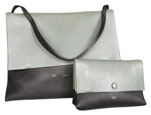 Céline Celine All Soft Color Block Shoulder Bag