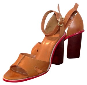 KDB Nude Leather Sandals