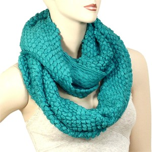Other Turquoise Blue Infinity Round Scarf