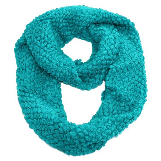 Other Turquoise Blue Infinity Round Scarf Image 1