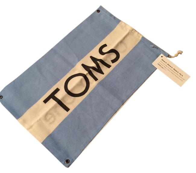 Item - Blue and White New Without Tag Shoe Bag.