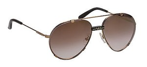 Carrera Carrera Women's Aviator Sunglasses CAR80S Antique Gold 60mm