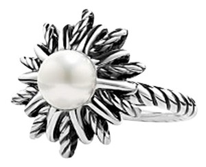David Yurman David Yurman Pearl Starburst Ring