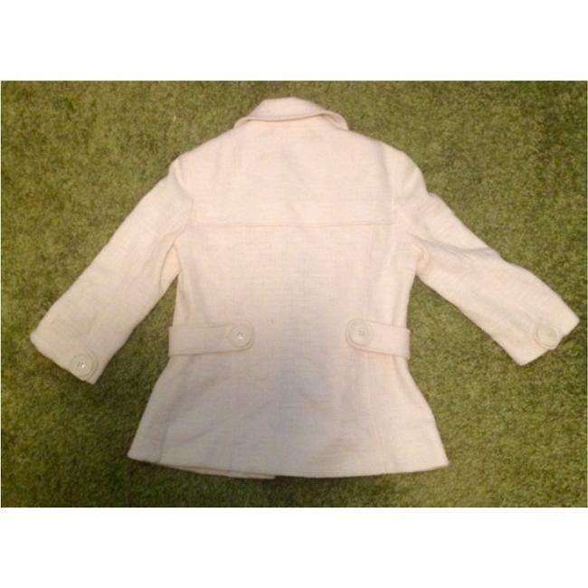 Tory Burch Blazer Buttons Lined Ivory Jacket Image 10