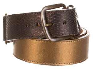 Louis Vuitton LOUIS VUITTON SNAKESKIN BELT (PRICE REDUCED)