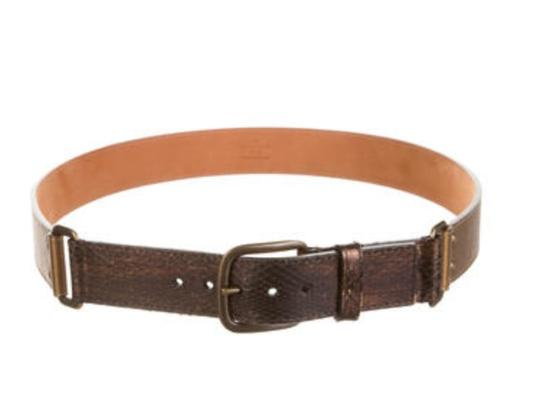 Louis Vuitton LOUIS VUITTON SNAKESKIN BELT (PRICE REDUCED) Image 1