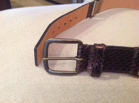 Louis Vuitton LOUIS VUITTON SNAKESKIN BELT (PRICE REDUCED) Image 2