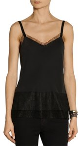 Rag & Bone & Neiman Marcus Barneys Lace Lace Silk Silk Intermix Shopbop Luxury Fall Fashion Week Designer Ballerina Lace Top Black