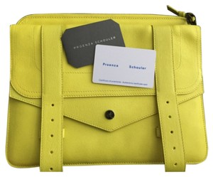 Proenza Schouler Ipad Case Pouch Yellow Clutch