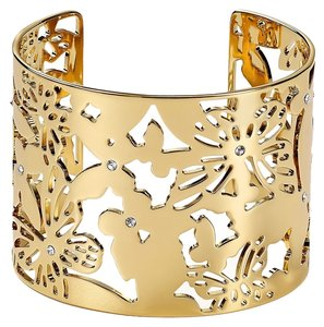 Kate Spade Intricately Whimsical Kate Spade All A Flutter Cuff NWT Unique Style -- So Beautiful!