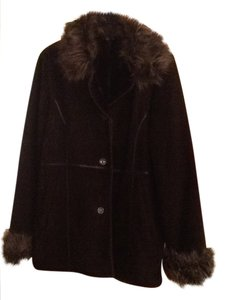 Wilsons Leather Faux Fur Coat