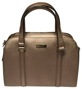 Kate Spade Felix Satchel in Rose Gold