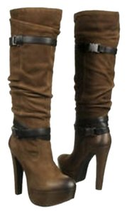 Jessica Simpson Army Brown Vintage Nubuck Boots