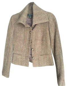 Ralph Lauren Brown tweed Blazer