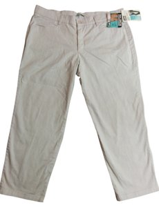 Lee Relaxed Fit Straight Leg Straight Pants White