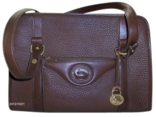 Preload https://item4.tradesy.com/images/dooney-and-bourke-hard-leatherwith-matching-wallet-cinammon-leather-shoulder-bag-6768-0-0.jpg?width=440&height=440