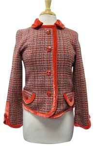 Marc Jacobs Tweed Red Jacket