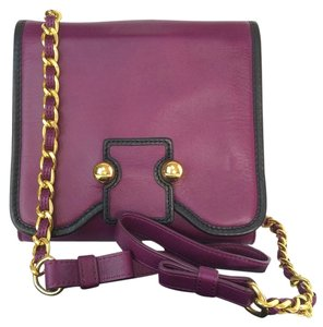Botkier Lucy Leather Crossbody Shoulder Bag