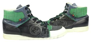 Gucci Black/ Green/ Navy/ White Athletic