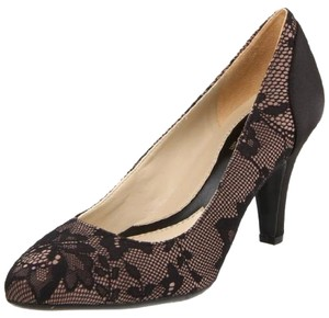 Naturalizer Heels Stilletto Lace black Pumps