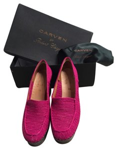 Carven Pink magenta Wedges