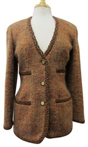 Chanel Tweed Brown Jacket