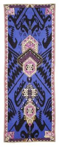 Emilio Pucci Emilio PucciBlue Printed Ikat Scarf New With Tags