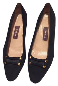 Bally Navy Blue- Suede Pumps
