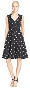 Kate Spade Polka Dot Party White Evening Dress