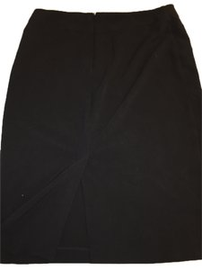 New York & Company Knee-length Pencil Skirt Black