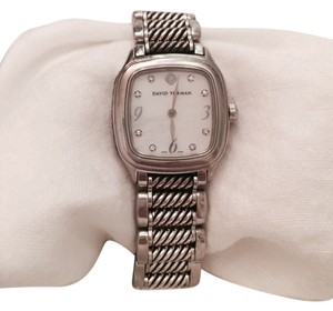 David Yurman David yurman thoroughbred MOP diamond dial Quartz ladies watch