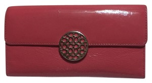 Coach COACH - PINK Patent Leather - Tri-fold, Full Size Wallet