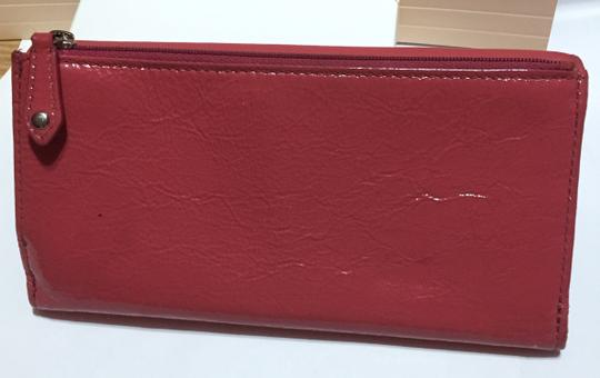 Coach COACH - PINK Patent Leather - Tri-fold, Full Size Wallet Image 8