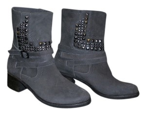 Vince Camuto Bootie Studded Grey Boots