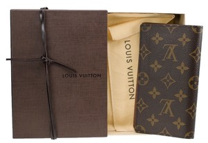 Louis Vuitton Louis Vuitton Monogram Canvas Checkbook Wallet