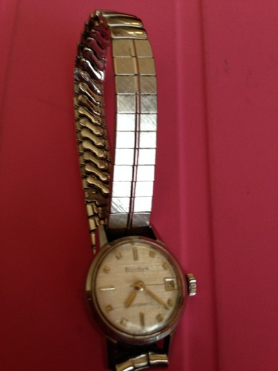 Bulova Bulova watch - Automatic 21 jewels and 14K white gold face