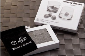 Grey 9x Whiskey Stone Whisky Wine Alcohol Cold Ice Cubes Bar Tool